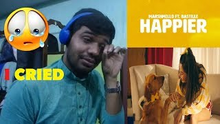 Marshmello ft. Bastille - Happier (Official Music Video)|Reaction & Thoughts