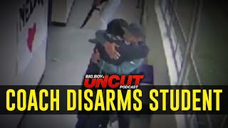 High School Coach Disarms Student w/ Gun   Uncut Podcast