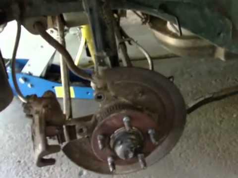 Repair Notes 1997 Ford Taurus Rear Disc Brakes