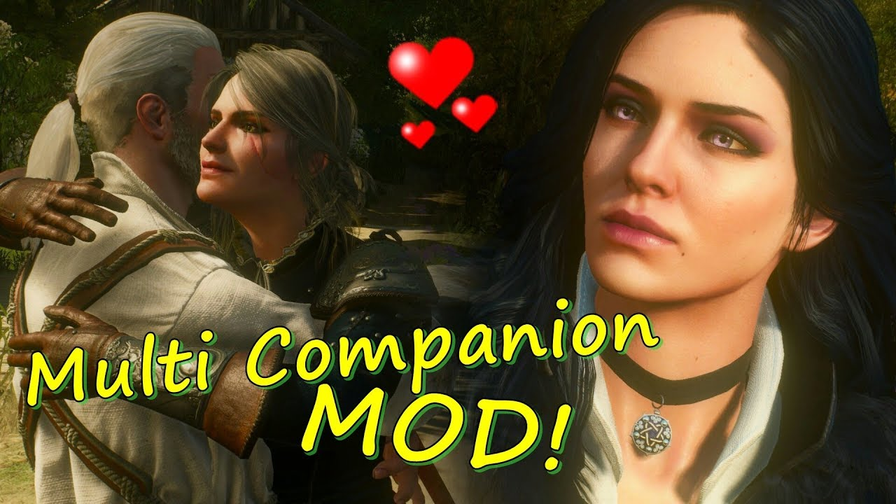 Multi Companion Mod - Exploring Toussaint with Ciri and Yennefer - THE  WITCHER 3