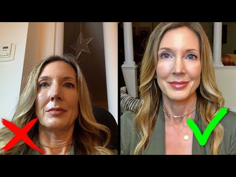How To Look Good on Video Calls for Zoom FaceTime Skype