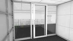 Shift Demountable Partition System