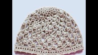 Детская шапочка крючком   на 6-18 месяцев 1\2 часть  Вязание Прямые трансляции