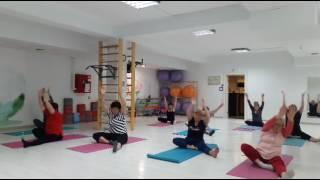 йога онлайн  суставы ног  занятие для любого возраста для новичков и опытных