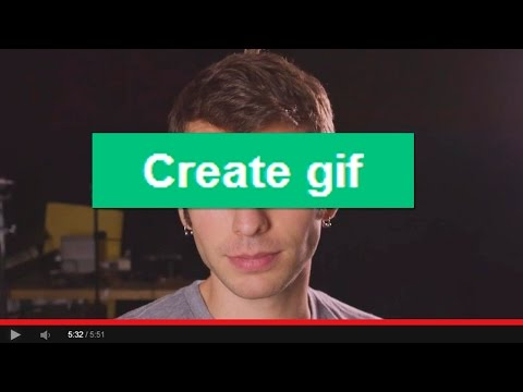 Make ANY YouTube Video a GIF! -- DONG