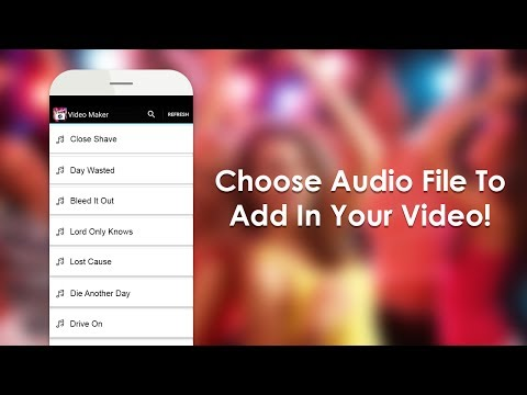 How to add Audio in your Video (Kinemaster)