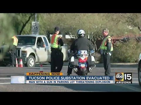 Tucson police substation evacuated