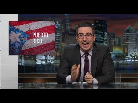 Puerto Rico - John Oliver (HBO) Last Week Tonight with John Oliver | August 26, 2017