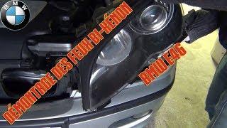 Démontage, rénovation et remontage des feux optiques - BMW E46 [partie 1/4]