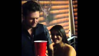 for those that missed it i did drugs with blake shelton