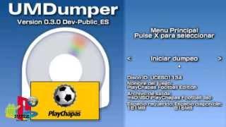 Como copiar juegos UMD a la memoria desde la PSP