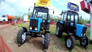 Гонки на тракторах Бизон-Трек-Шоу 2018 (1 серия)