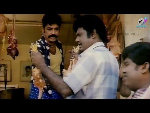 Kamalhassan confusing Goundamani | FAMOUS Chicken COMEDY | Senthil | Vadivelu | Maharasan Comedy