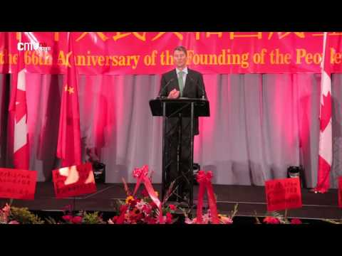 Celebration of the 66th anniversary of the founding of P.R. China held in Vancouver (EN)