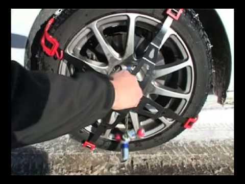 polaire trak sport passanger car snow chain removing. Black Bedroom Furniture Sets. Home Design Ideas