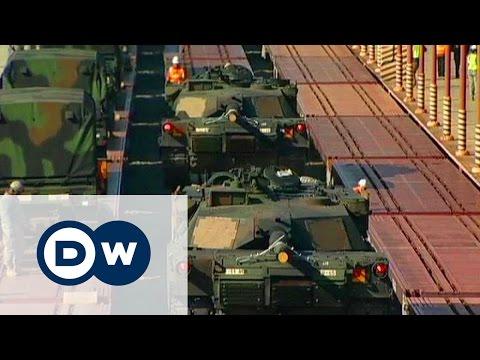 Танки Пентагона в Европе: Россия намерена ответить