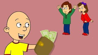 Caillou Finds A Lost Wallet!