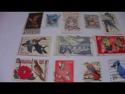 Peace Bridge 1927-77 & More Bird Postal Stamps