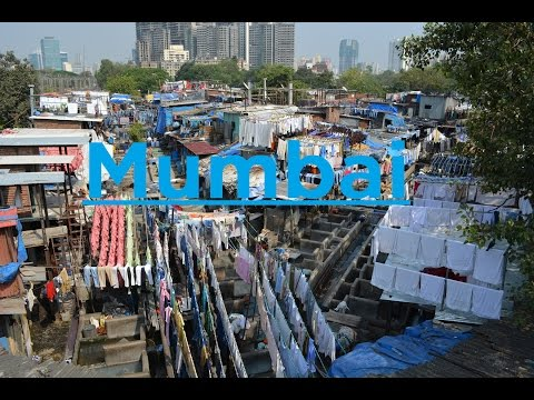 One of the biggest slums in the world - Mumbai, India