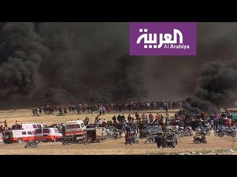 """جمعة """"الكاوتشوك"""" تشعل غزة"""