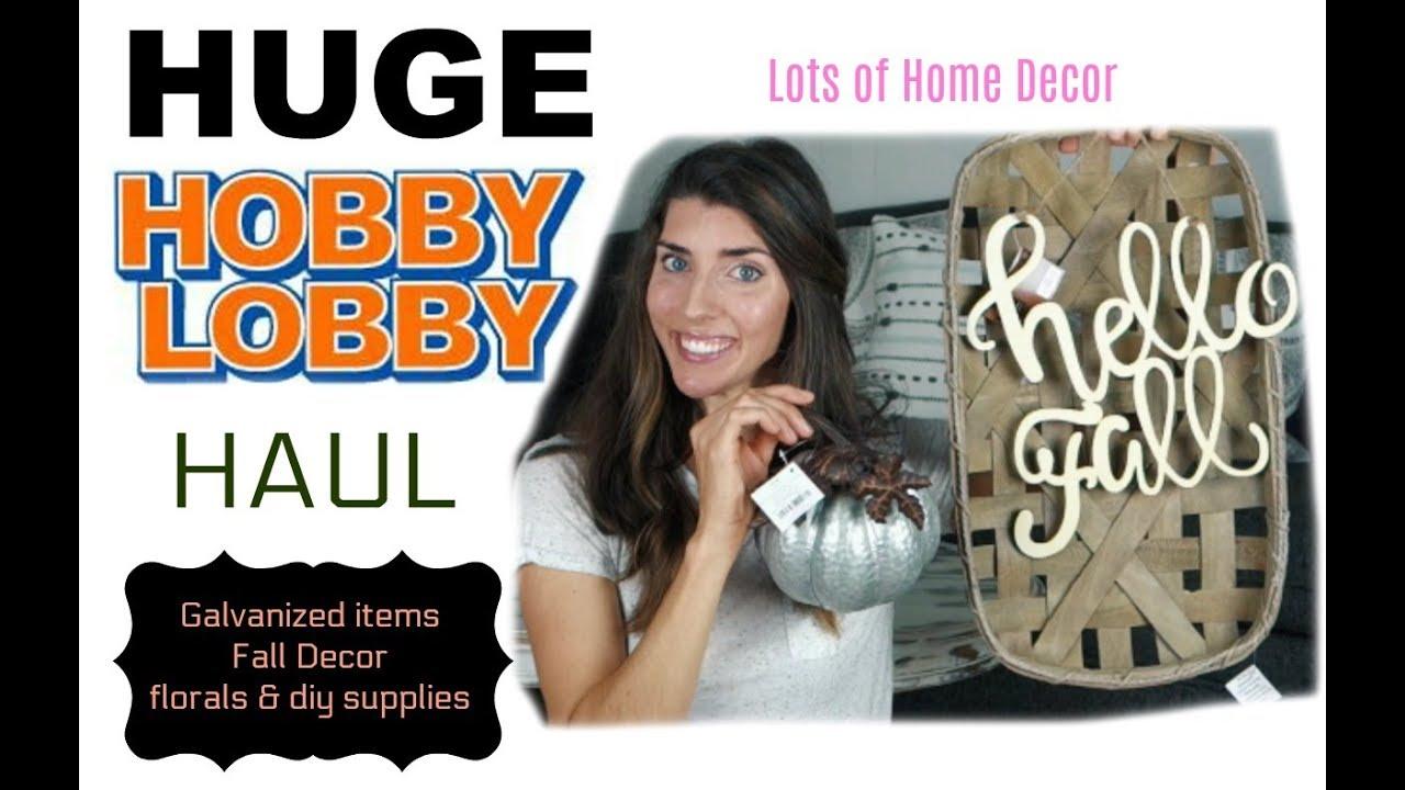 hobby lobby haul farmhouse home decor fall u0026 more youtube