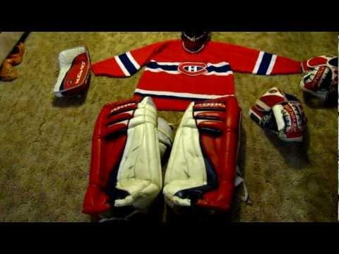 Patrick Roy KOHO Revolution 500 Pads And Gloves