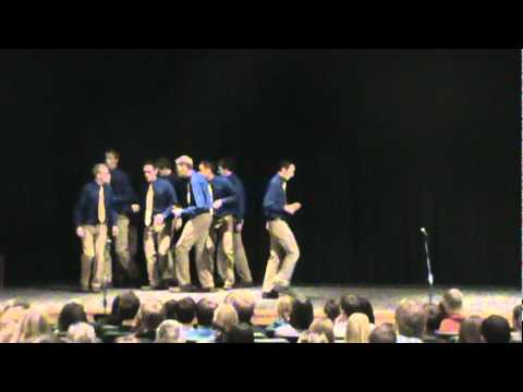 BYU Vocal Point sings Michael Buble - It had better be tonight