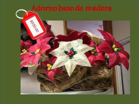 Artesan as navide as youtube for Artesanias navidenas