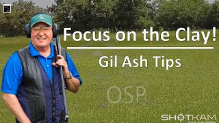 """ShotKam - """"Focus ONLY on the Clay!"""" - Lesson on Shooting Sporting Clays with Gil Ash"""