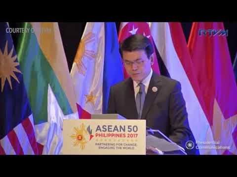 ASEAN 2017: ASEAN-Hong Kong, China (AHKFTA) Free Trade Agreement (FTA)