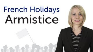 Learn French Holidays - Armistice