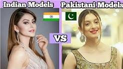 💛💙 Top 10 Indian Models Vs Pakistani Models 💙💚💛