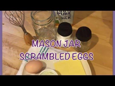 Gianni's Mason Jar Scrambled Eggs