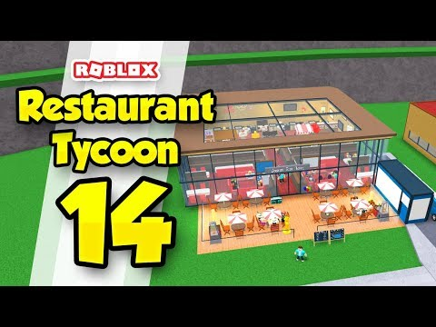 RESTAURANT TYCOON #14 - THE BEST RESTAURANT IN GAME (Roblox Restaurant Tycoon)