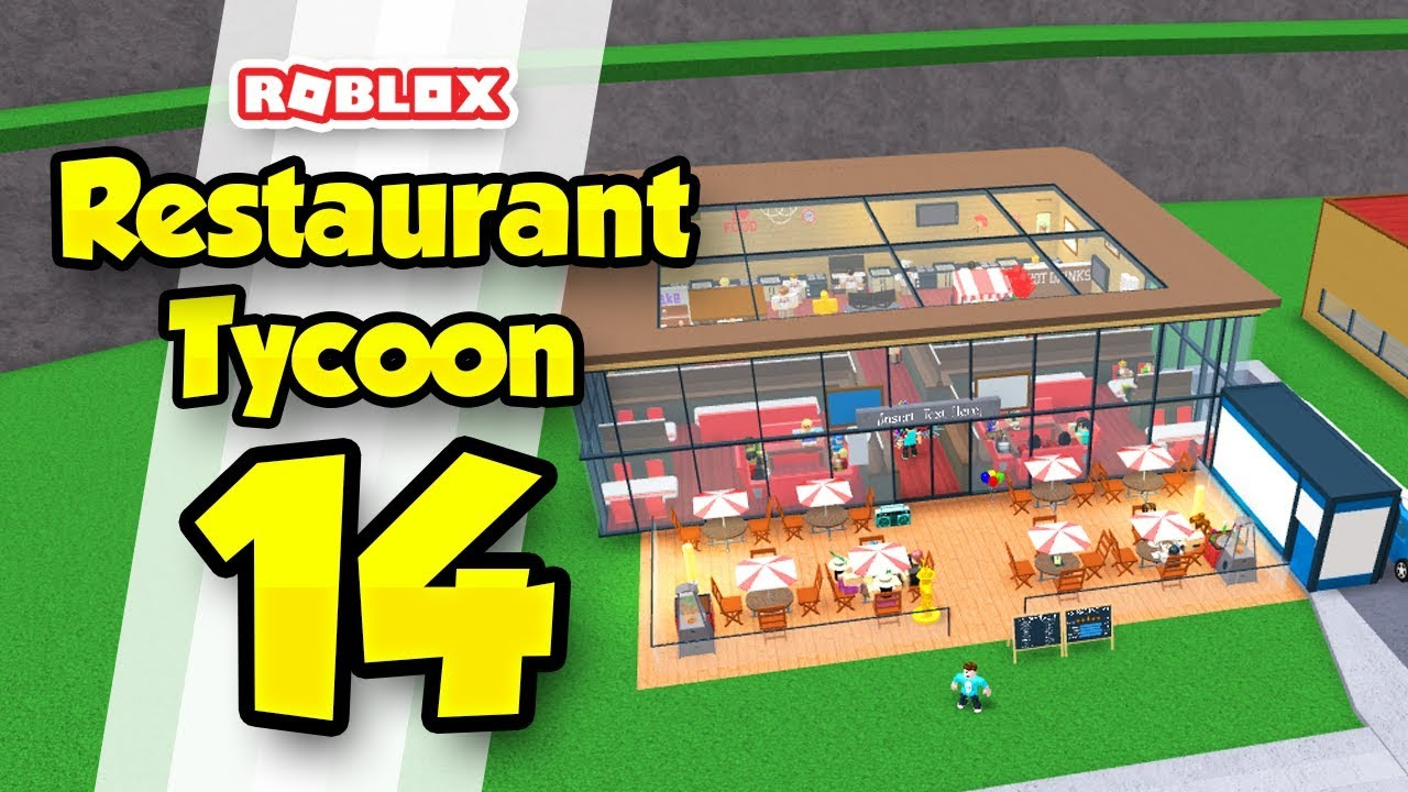 Restaurant Tycoon 14 The Best Restaurant In Game Roblox