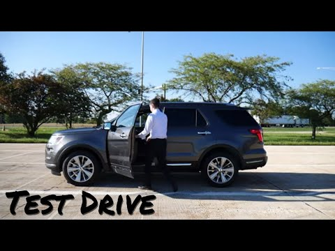 2018 Ford Explorer Limited // test drive // 100 rental cars