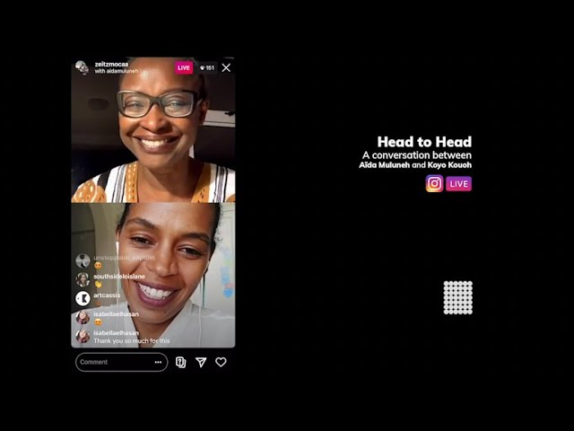 A Virtual Conversation with Aïda Muluneh and Koyo Kouoh