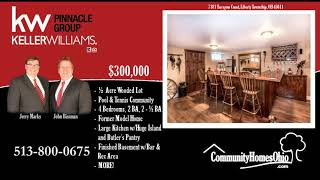 Welbourne Manor Home for Sale  7181 Tarragon Court, Liberty Township, OH 45011