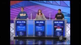 Hans von Walter on Jeopardy! (Semifinals - 11/16/2010)