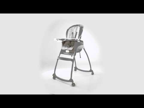 360º View of Ingenuity's Trio 3-in-1 Deluxe High Chair – Piper