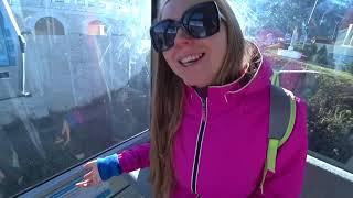 Снег в Сочи - есть в горах! Подъемник на высоту 2200 метров | Горнолыжный курорт Горки Город в Сочи