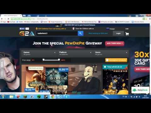 How to use G2A.com to buy CD-Keys and Games at a discount!