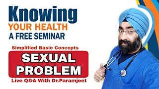 Live Seminar On Private life Problems | Ask Dr.Paramjeet | Dr.Education