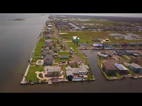 Rockport, TX - Before and After Hurricane Harvey - Aerial Drone Video
