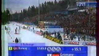 Чемпионат мира 2004, Oberhof, эстафета женщины