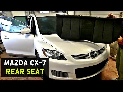 2016 Mazda Cx5 Interior - MAZDA CX-7 CX7 REAR SEAT REMOVAL REPLACEMENT