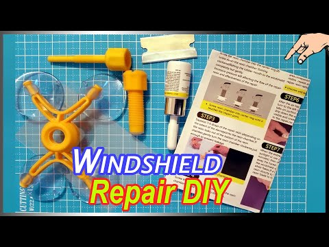 How To Stop Windshield Cracks - Do This Before Using DIY Windscreen Chip Repair Kits + Tips