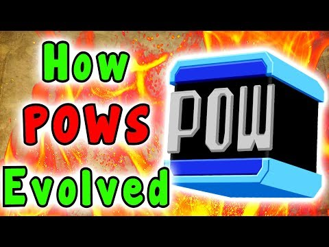 Super Mario - Evolution Of The POW BLOCK (1983 - 2019)