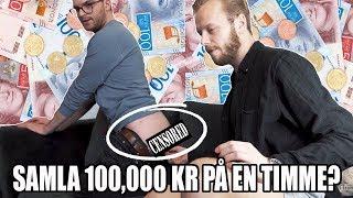 KAN VI SAMLA IHOP 100,000 KR PÅ UNDER EN TIMME?