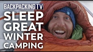 How To Have a Good Night's Sleep While Winter Camping